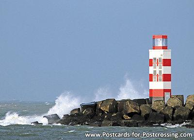 Postcard Pier of IJmuiden
