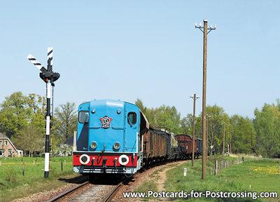 Postcard Diesel-electric locomotive NS 2412