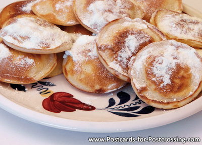 Postcard poffertjes