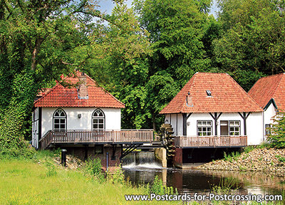 Postcard Watermill Den Helder