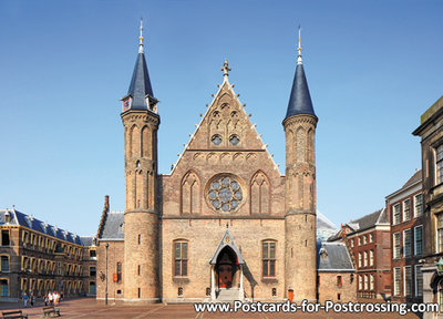 Postcard Binnenhof - the Hague