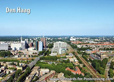 Postcard Skyline The Hague