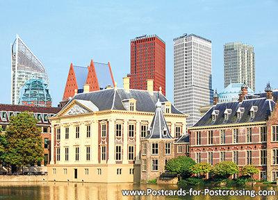 Postcard The Hague -Mauritshuis en Torentje