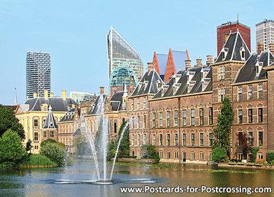 Postcard The Hague - Hofvijver en het Torentje