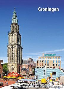 PostcardMartinitoren- Groningen