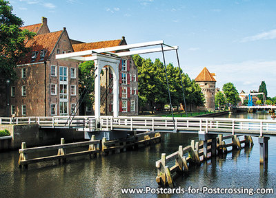 Postcard Zwolle -Pelserbridge