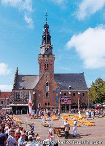 PostcardCheese market - Alkmaar