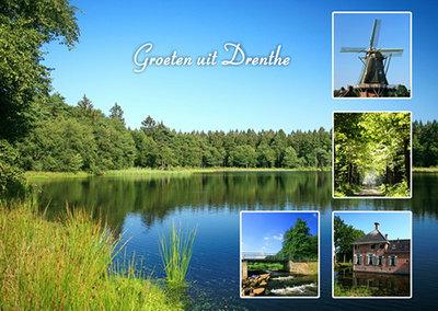 Postcard landscapes in Drenthe