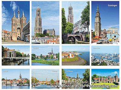 City postcard set