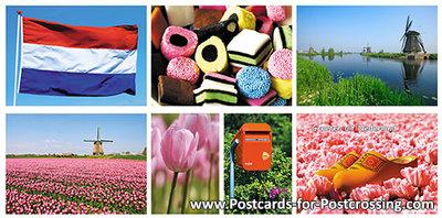 Postcard set Typically Dutch