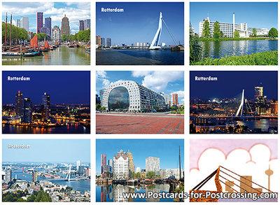Postcard set Rotterdam