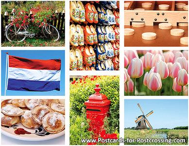 Postcard set Dutch