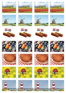 Dutch sticker sheet