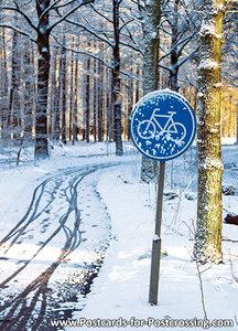 Postcard bicyclepath