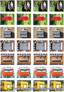 Mailbox sticker sheet