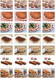 Food sticker sheet