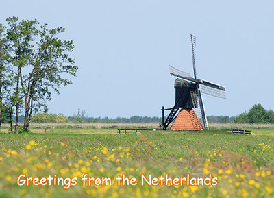 Postcard Greetings from the Netherlands 010