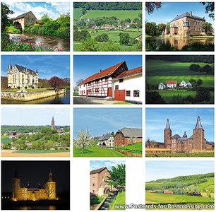 Limburg postcard set