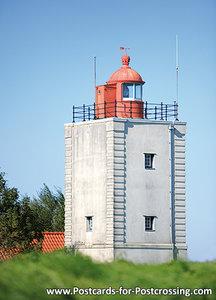 Enkhuizen postcard - lighthouse de Ven