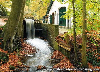 Staverdensebeek - landgoed Staverden postcard