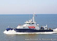 Postcard Dutch Royal Military Ship