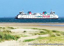 Postcard Ferry TESO Dokter Wagemaker