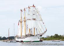 Postcard of the ship de Esmeralda on Sail Amsterdam