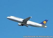 Airplane postcard Airbus A320-200
