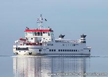 Postcard Ferry Rottum
