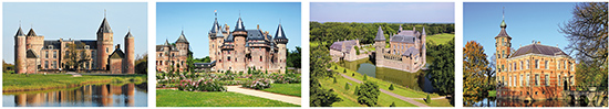 castle postcards