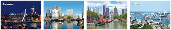 Rotterdam postcards