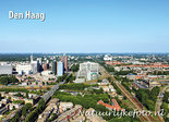 Ansichtkaart skyline Den Haag - postcard Skyline The Hague - Ansichtskarte Postkarte 's-Gravenhage