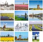 Molen kaartenset - Postcard set windmills - Postkarten Set Mühlen