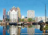 AnsichtkaartRotterdam Oudehaven, postcard Rotterdam Old Harbour, Postkarte Rotterdam Alter Hafen