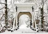 ansichtkaart winter borg Nienoord, winter postcard Nienoord,  winter Postkarte Nienoord Leek