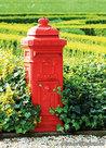 Ansichtkaart brievenbus, postcard mailbox, postkarte Briefkasten