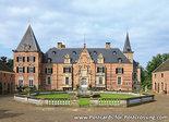 ansichtkaart kasteel Twickelin Delden, postcardcastle Twickel, Postkarte Schloss Twickel