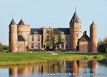 ansichtkaart kasteel Westhove in Oostkapelle, postcardcastle Westhove , Postkarte / Ansichtskarte Schloss Westhove