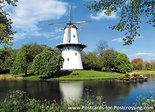 ansichtkaart molen de Hoop Middelburg, mill postcard, Mühle Postkarte