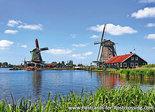 ansichtkaart de Zaanse Schans in Zaandam
