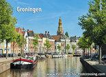 ansichtkaart Aa kerk Groningen, postcard Aa kerk Groningen, Postkarte Aa kerk Groningen
