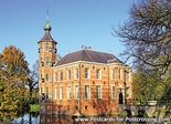 Herfstkaarten, ansichtkaart kasteel Bouvigne in Breda, postcardcastle Bouvigne in Breda, Postkarte Schloss Bouvigne in Breda