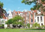 AnsichtkaartAmsterdam Begijnhof, Amsterdam postcard Begijnhof , Amsterdam Postkarte Begijnhof