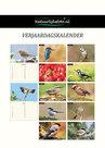 Verjaardagskalender vogels, Birthday calendar birds, Geburtstagskalender Vogel