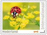 Postzegels internationaal - lieveheersbeestje