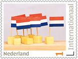 Postzegels internationaal - kaasplankje