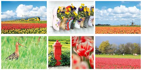 postcard set typical Dutch