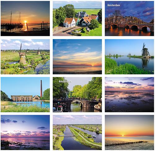 Postcard set UNESCO WHS