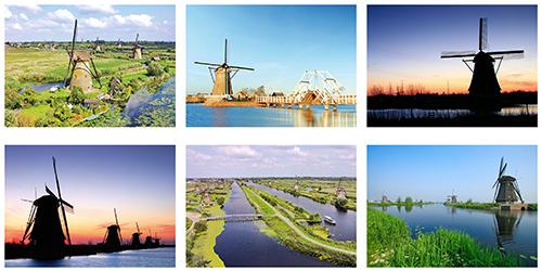 Kinderdijk postcardset