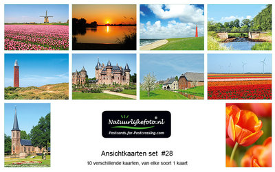 Kaartenset , Postcard sets for sale, postkarten set